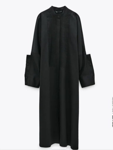 zara haljina od puplina 4990