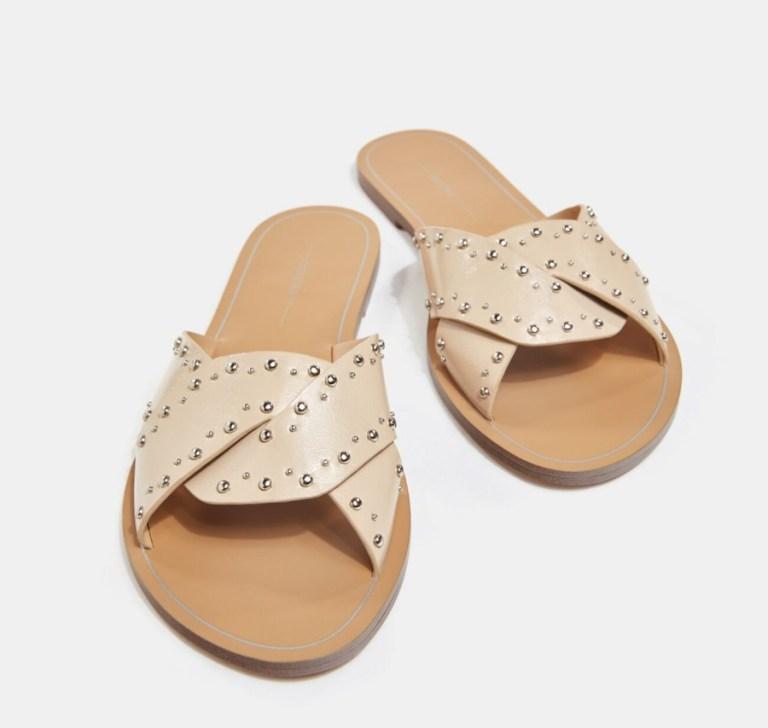 ravne papuče sa nitnama 2021