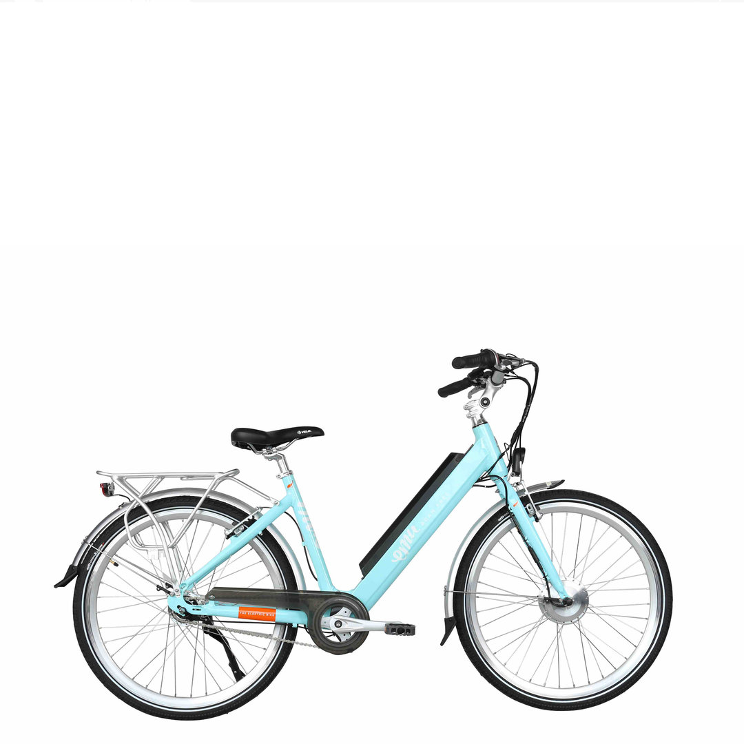 Emu Step Thru Electric Bike Blue