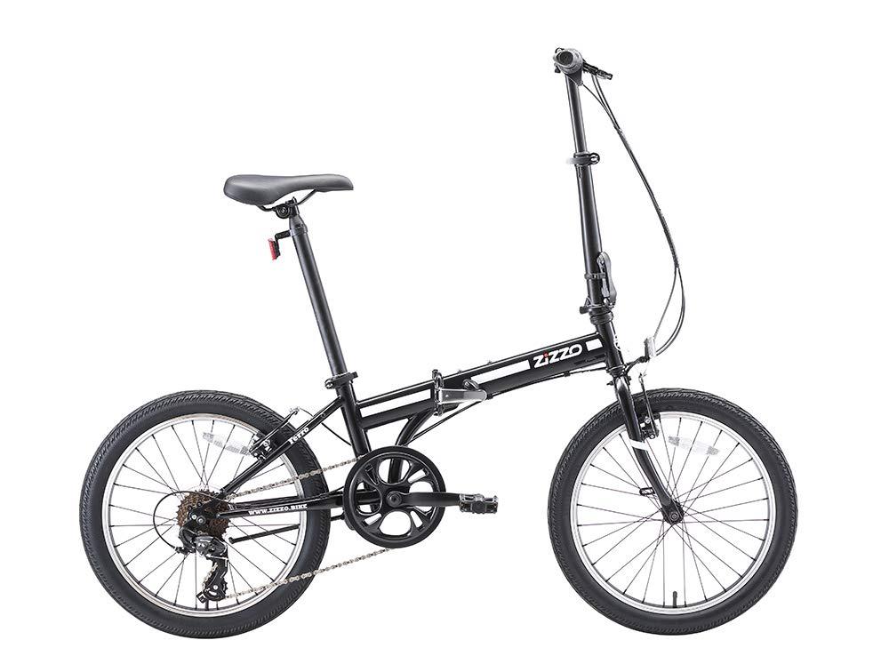 EuroMini ZiZZO Ferro 20-Inch 29 lbs Light Weight Folding Bike
