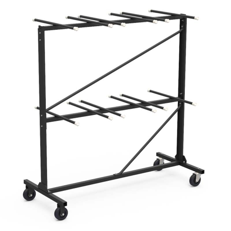 Folding Chair Storage Folding Chair Storage Rack Hct6072 Blk01