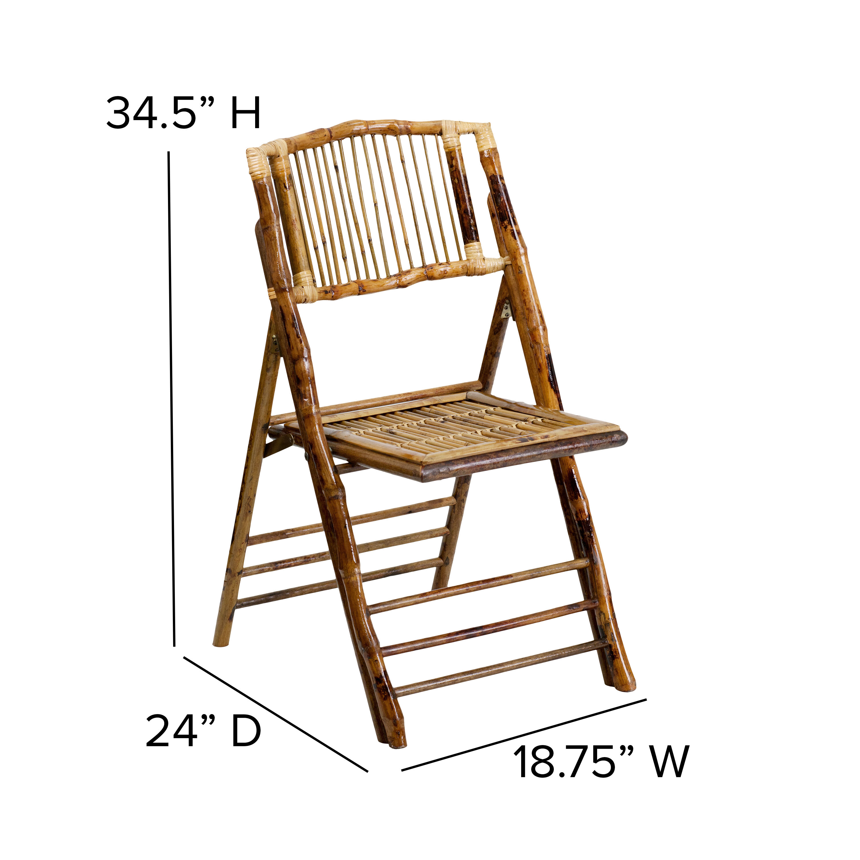Bamboo Chairs Bamboo Folding Chair X 62111 Bam Gg Foldingchairs4less