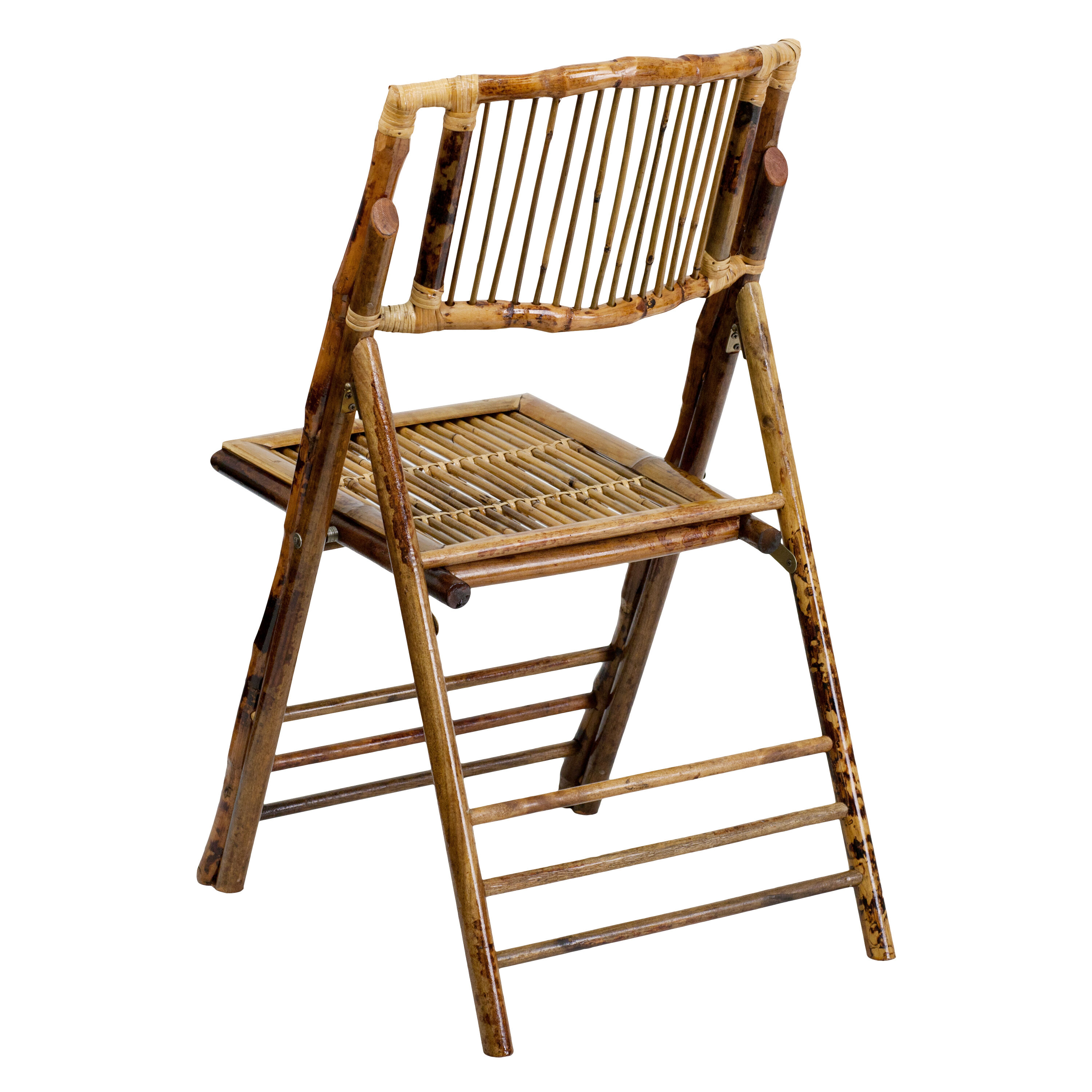 Collapsible Chair American Champion Bamboo Folding Chair