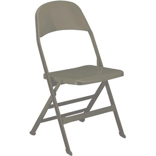 Steel Folding Chair White Steel Folding Chair 2000sb Bonewhite