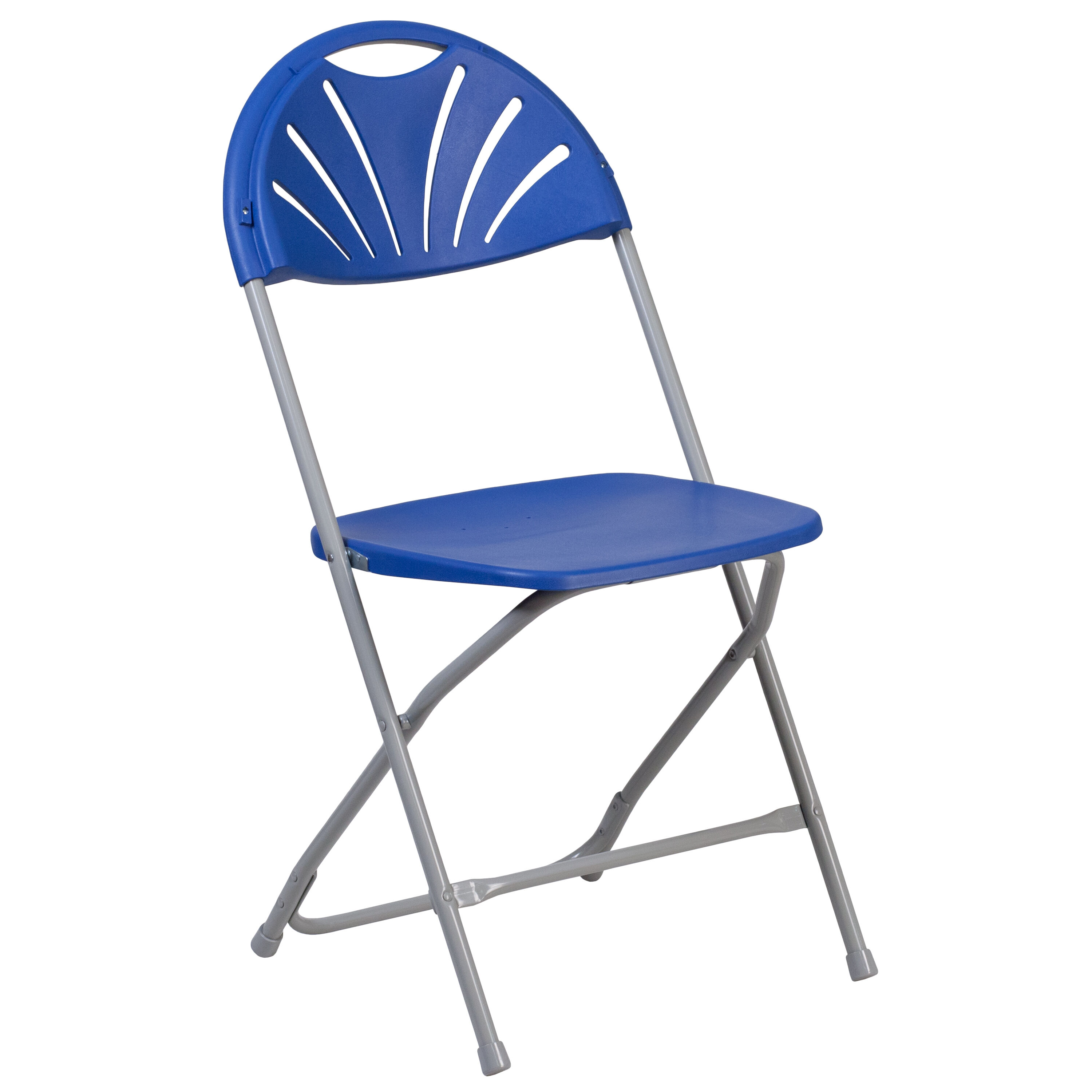 Blue Folding Chairs Blue Plastic Folding Chair Le L 4 Bl Gg