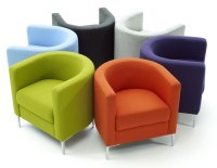 Colorful Living Room Chairs