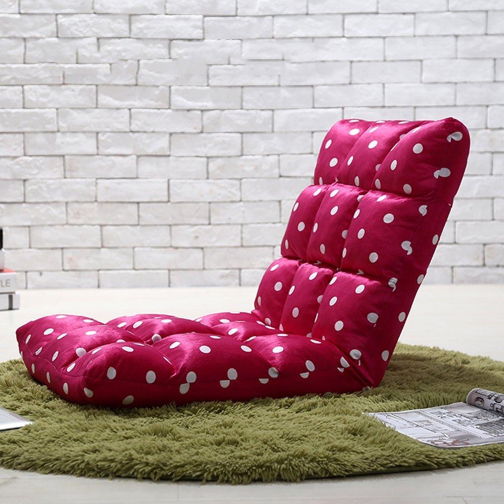 Adjustable Folding Floor Multi angle Foldable Lounge Chair