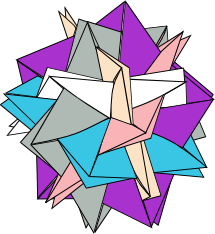 Drawing of Blintz Icosidodecahedron by Tung Ken Lam