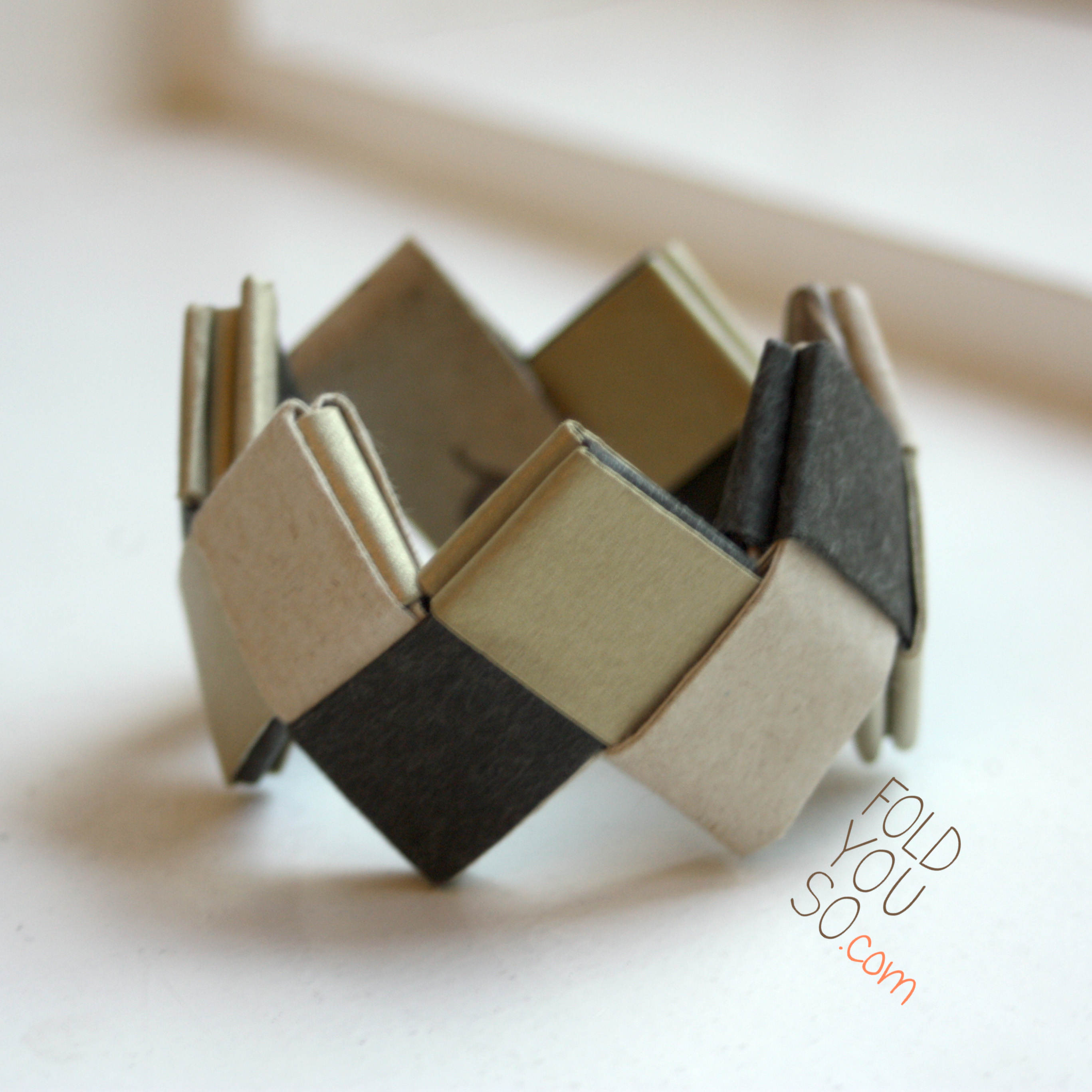 diagram origami bracelet wiring for household electricity armbånd fold you so