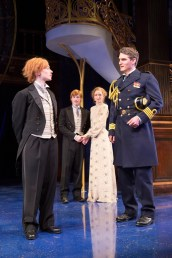 Emily Trask, William Vaughan, Rachel Pickup, and Michael Brusasco in Twelfth Night. Photo by Scott Suchman.