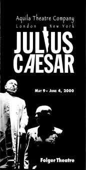 '00 Caesar Program Cover