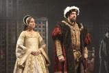 Karen Peakes and Ian Merrill Peakes in Henry VIII. Photo by Carol Pratt.