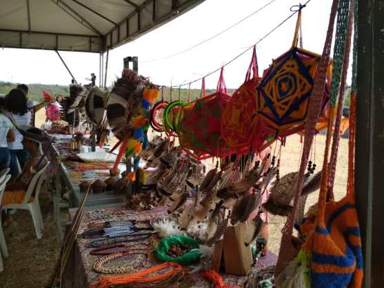Feira de Economia dos Povos durante a VI Jornada de Agroecologia da Bahia