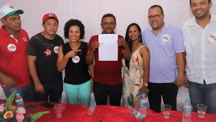 Pré-candidato a prefeito de Lajedinho/BA se filia ao PT