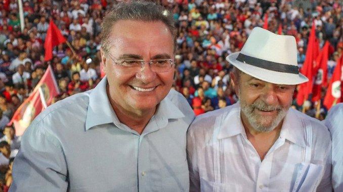 Lula e Renan