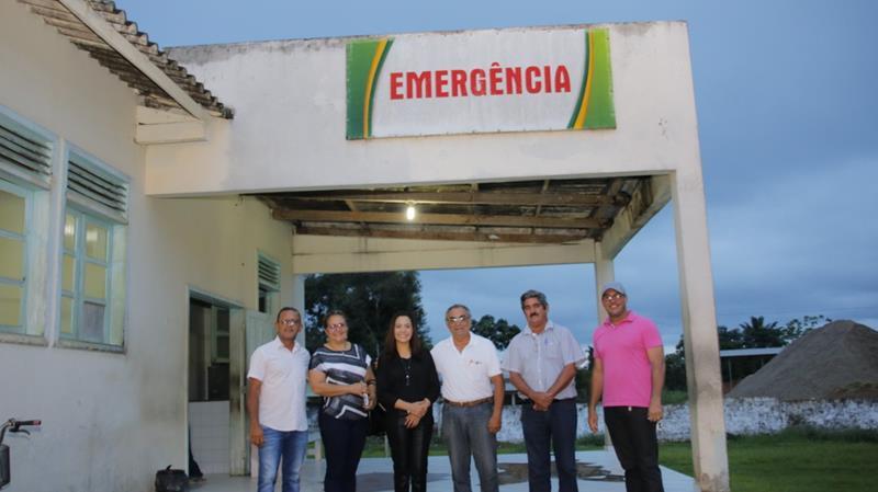 Senadora Mailza no Hospital Geral de Feijó (Copy)