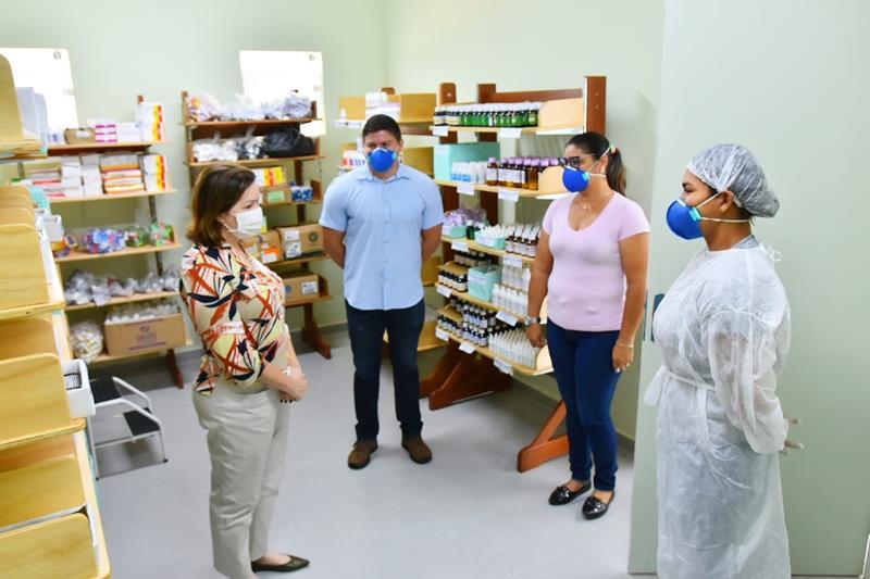 Perfeita Socorro Neri realiza visita a UBS Vila Manoel Marques (Fotos Fagner Delgado) (7) (Copy)