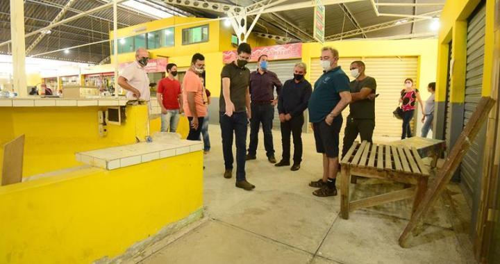 Prefeitura avança com obras de revitalização e reforma nos mercados municipais (Fotos Assis Lima) (1) (Copy)