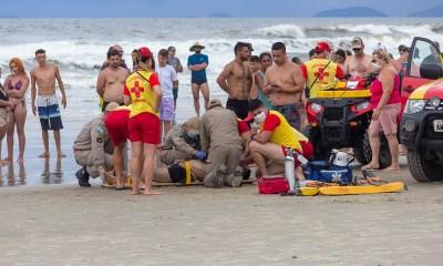 Guaratuba: Banhista morre afogado no balneário Nereidas