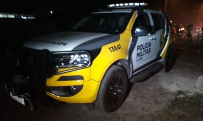 Confronto armado termina com suspeito baleado nas costas em Matinhos
