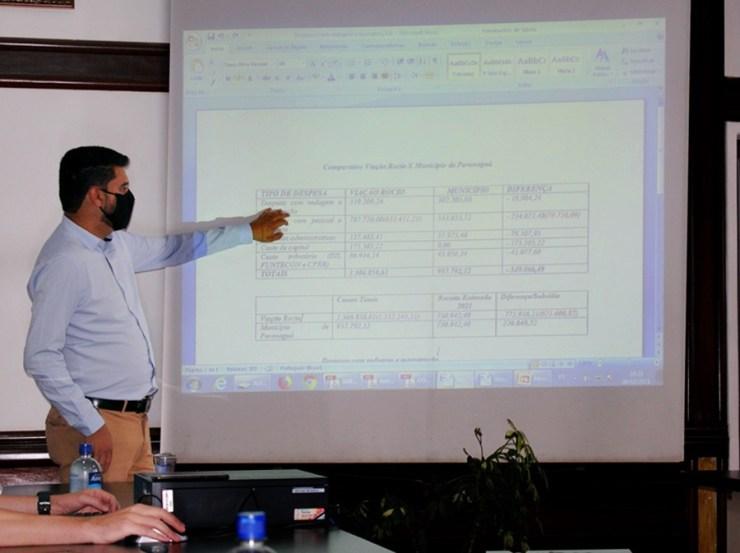 O superintendente de Apuração de Inexecução Contratual da prefeitura, Diego Delfino