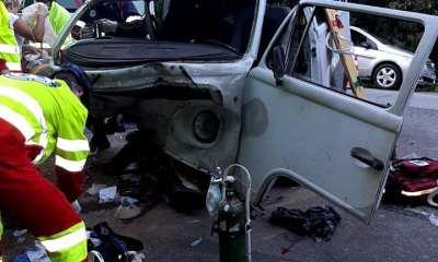 Vítimas do acidente na Estrada das Praias seguem internadas no Hospital Regional