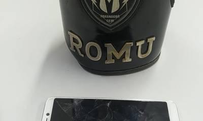 Ação rápida da ROMU prende dupla que roubou celular no Centro Histórico