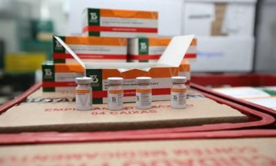 Paraná recebe novo lote com 258,4 mil doses de vacinas contra a Covid-19