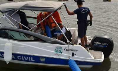 Homem é agredido com pauladas na cabeça durante confusão na Ilha do Mel