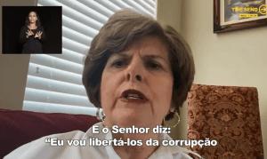 """Cindy Jacobs traz profecia para o Brasil no The Send: """"Eu vou libertá-los da corrupção"""""""