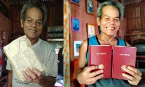 Em vez de comida, homem pede por uma Bíblia nova e comove missionários nas Filipinas