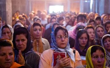 Fiéis no Irã