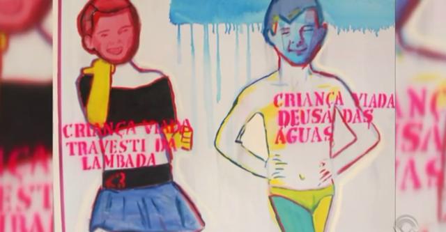 Obra da exposição 'Queermuseu' acusada de pedofilia