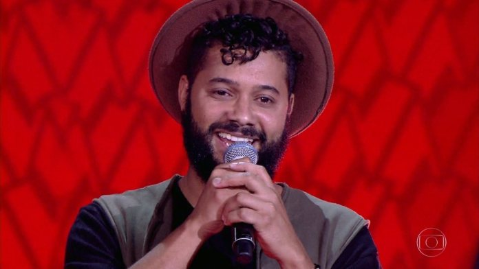 Cantor gospel Diego Karter no The Voice Brasil 2017