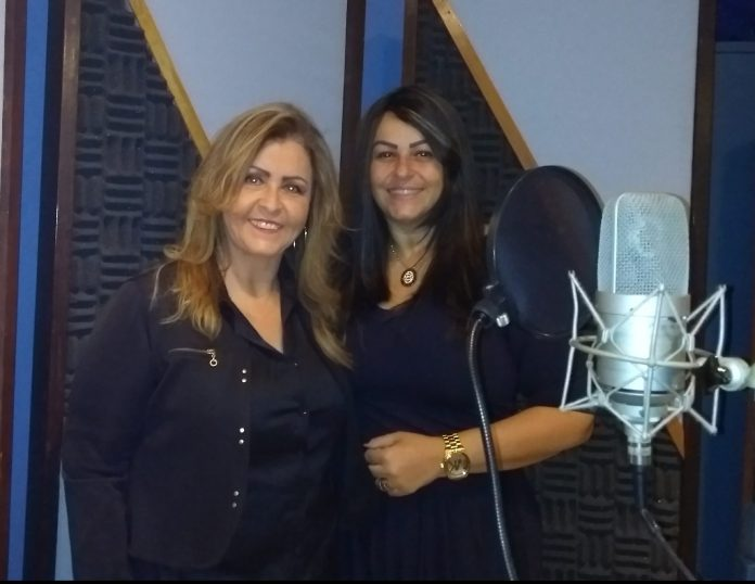 Cantoras Shirley Carvalhaes e Beatriz