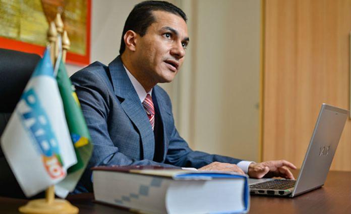 Marcos Pereira - bispo da Igreja Universal e ministro do Desenvolvimento, Indústria e Comércio - outubro 2017
