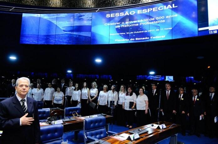 Sessão especial no Senado Federal pelos 500 anos da Reforma Protestante
