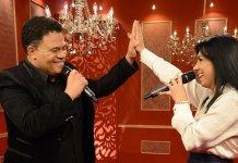 "Eyshila e Wilian nascimento cantando a música ""Terremoto"""