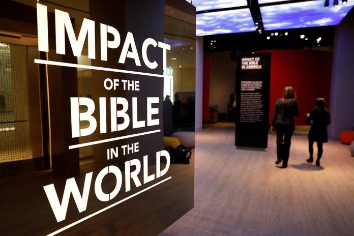 Museu da Bíblia, em Washington, EUA