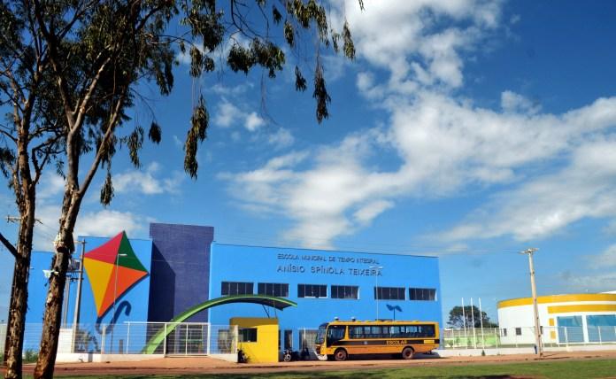 Escola de Tempo Integral Anísio Spínola Teixeira, em Palmas (TO)