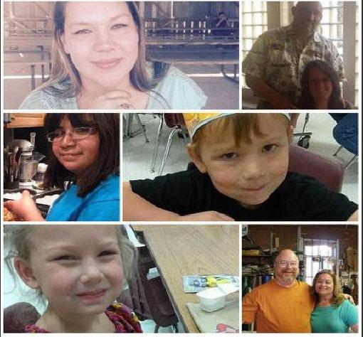 Vítimas do atirador na Igreja Batista no Texas