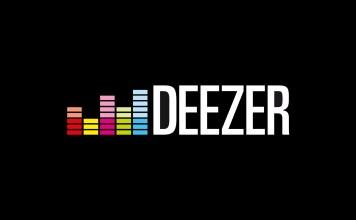 Logo do serviço de streaming de música Deezer