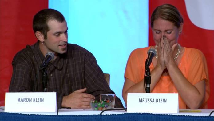 Aaron e Melissa Klein, casal de boleiros cristãos
