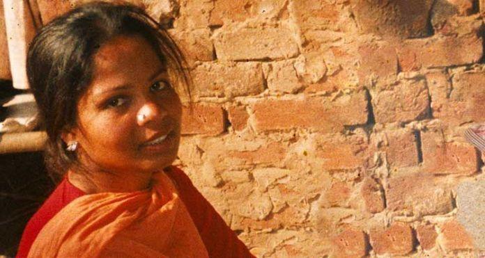Asia Bibi é uma cristã presa no Paquistao