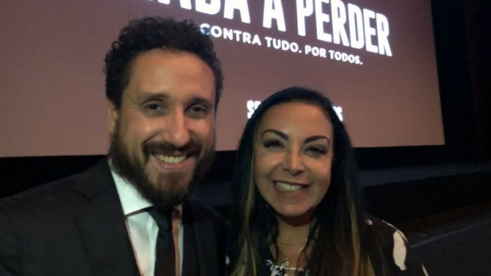 Leonardo Gonçalves e Cristina Mel