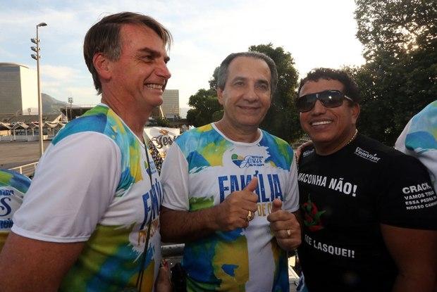 Jair Bolsonaro, Silas Malafaia e Magno Malta