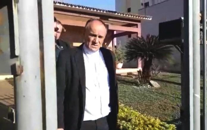 Bispo de Formosa, Dom José Ronaldo, foi preso durante operação do MP