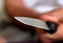Tentativa de homicídio com faca