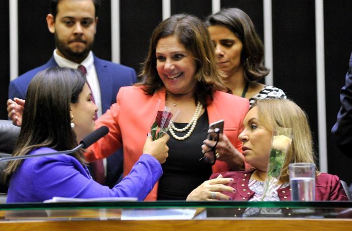 Bancada feminina construiu acordos para aprovação das propostas na Câmara dos Deputados