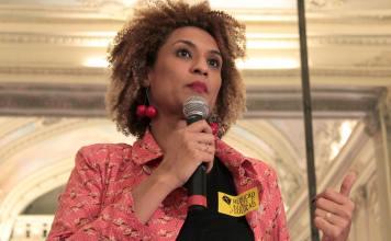 Vereadora Marielle Franco, do PSOL, assassinada no Rio de Janeiro